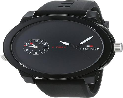 A Tommy Hilfiger Men's Analogue Classic Quartz Watch With Silicone