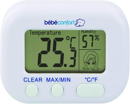 a Comfort Hygrometer Thermometer