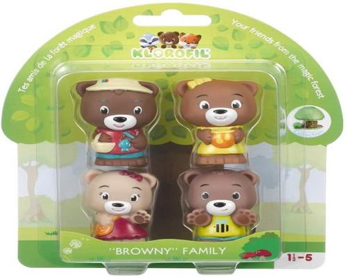 een Klorofil-wekker - Browny Family Collectible Characters