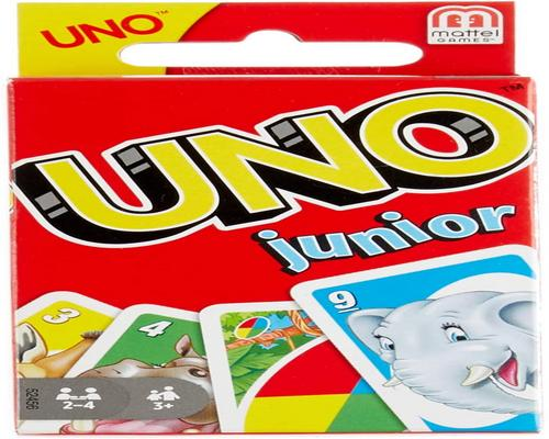 Uno Junior Board Game And With Drawings D