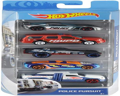 a Hot Wheels Car Set of 5 Vehicles