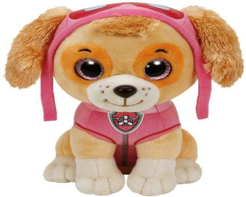 a Ty 8421412105 Paw Patrol Skye Dog Soft Toy 380