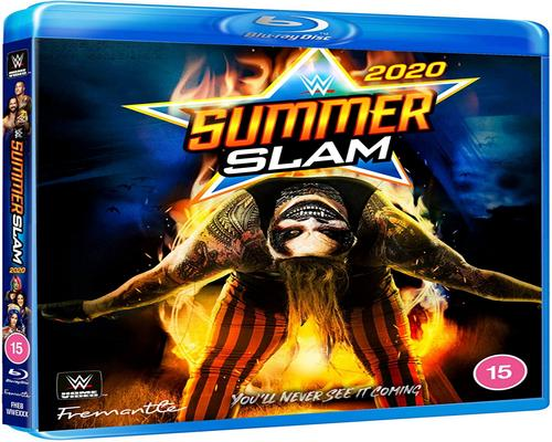 a Dvd Wwe: Summerslam 2020 [Blu-Ray]