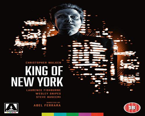 a Dvd King Of New York [4K Uhd] [Blu-Ray]
