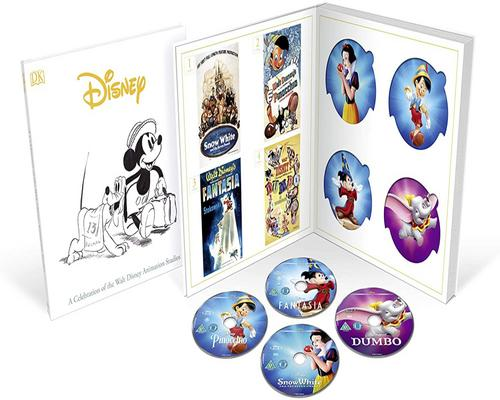 a Dvd Disney Classics Complete Collection (57 Disc Collection) - Bd [Blu-Ray] [2020] [Region Free]