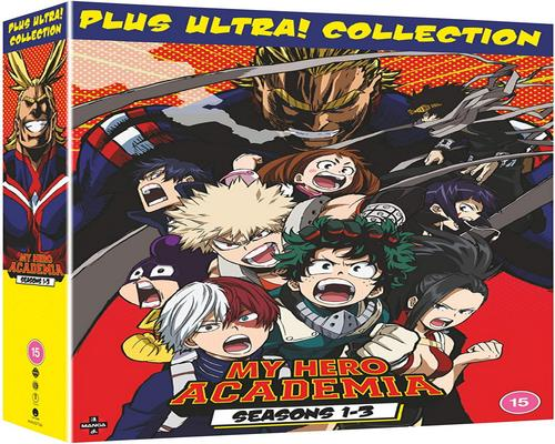 a Dvd My Hero Academia: Collection Box Seasons 1-3 [Dvd]