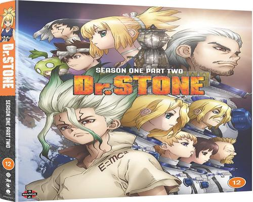 a Dvd Dr. Stone: Season 1 Part 2 (Episodes 13-25) [Dvd]