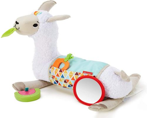 Игрушка Fisher-Price My Plush Llama Cushion с 3 съемными