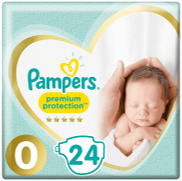 <notranslate>une Couche Pampers Premium Taille 0</notranslate>