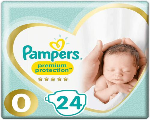 a Pampers Premium Size 0 Windel