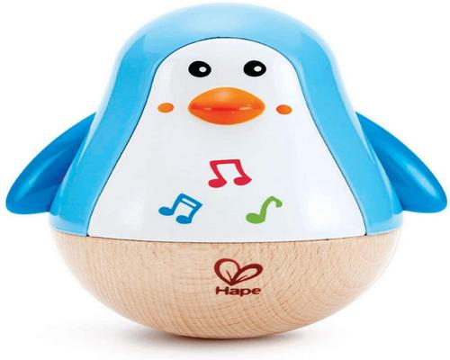 A Hape Toy - Musical Wooden First Age - Culbuto Penguin