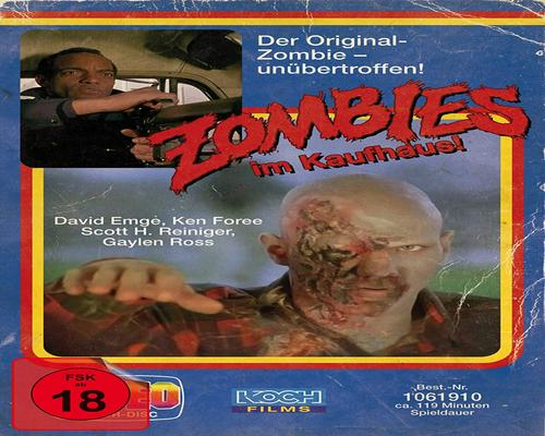 ein Film Zombie - Dawn Of The Dead (Retro-Vhs-Edition B, Uhd + 3 Blu-Rays) (Exklusiv Bei Amazon.De)