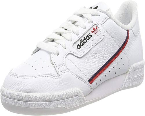 a pair of adidas continental 80 sneakers