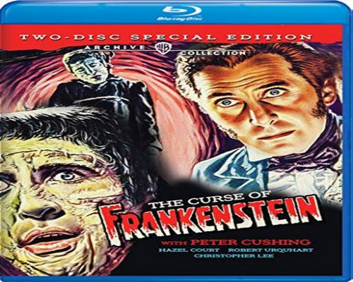 a Movie Curse Of Frankenstein, The [Blu-Ray]