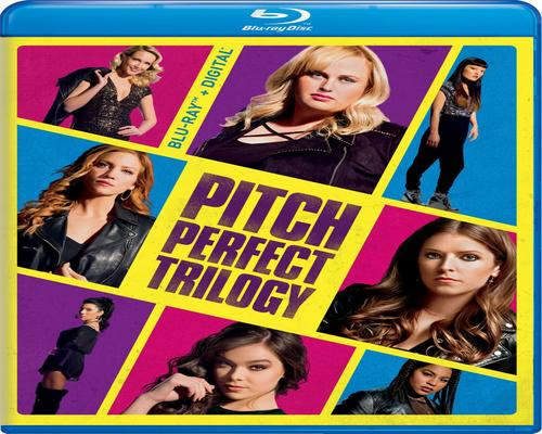 a Movie Pitch Perfect Trilogy [Blu-Ray]