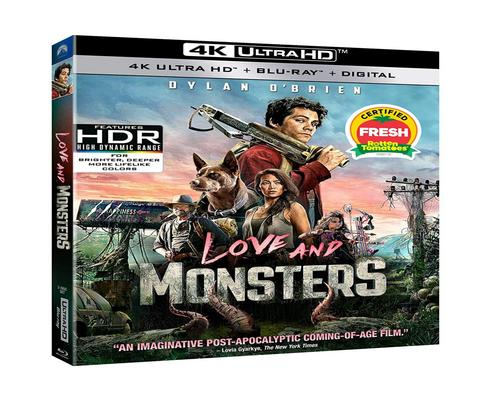 a Movie Love And Monsters (Uhd + Blu-Ray + Digital)