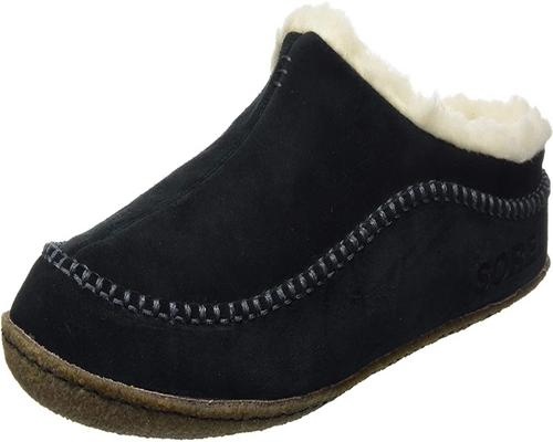 a Pair Of Sorel Slippers