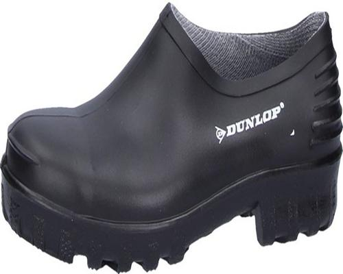 A Pair Of Dunlop Protective Footwear Dunlop Monocolour Wellie Shoe