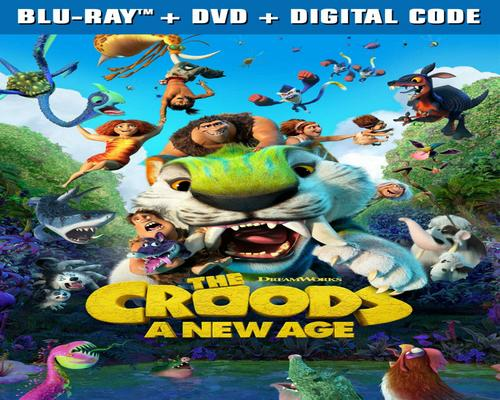 a Movie The Croods: A New Age [Blu-Ray]