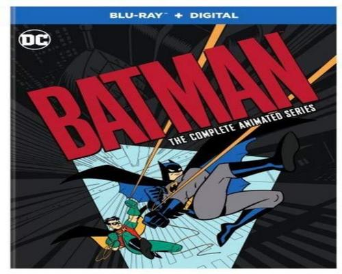 a Movie Batman: The Complete Animated Series (Blu-Ray W/ Digital Copy)
