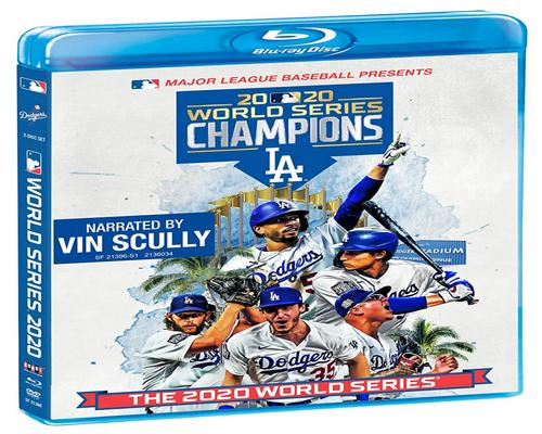 a Movie 2020 World Series Champions: Los Angeles Dodgers [Blu-Ray + Dvd]