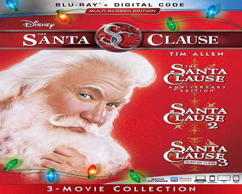 a Movie The Santa Clause 3-Movie Collection [Blu-Ray]