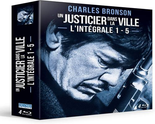 a Boxed Film A Justice In The City-The Complete 1-5 [Blu-Ray]