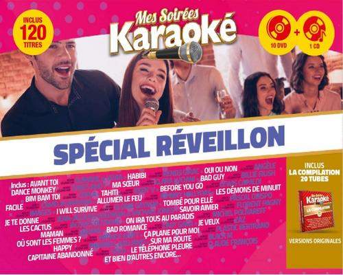 a Film My Karaoke Evenings 2020 Box 10 Dvd + 1 Cd Special New Year's Eve