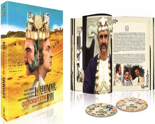 a Film The Man Who Wanted To Be King [Blu-Ray + Dvd + Book Collector's Edition]