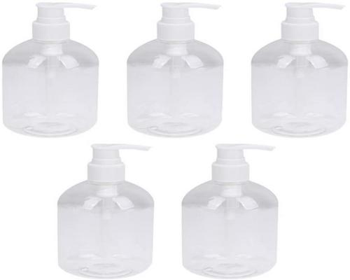 One Beaupretty Bottle 5Pcs 350Ml Refillable Spray Bottles Lotion Bottles Hands Sprayer Travel Container Soap Bottles