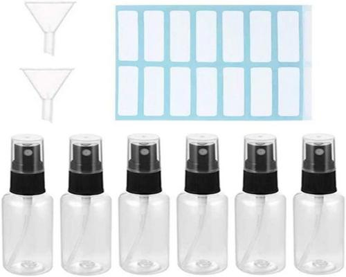 a 6 Pcs 50Ml Spray Bottle