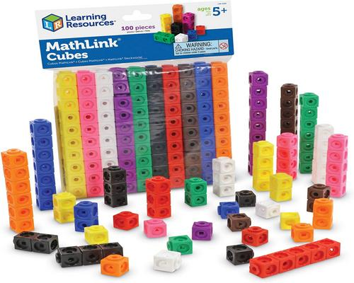a Learning Resources Cubes Mathlink Game