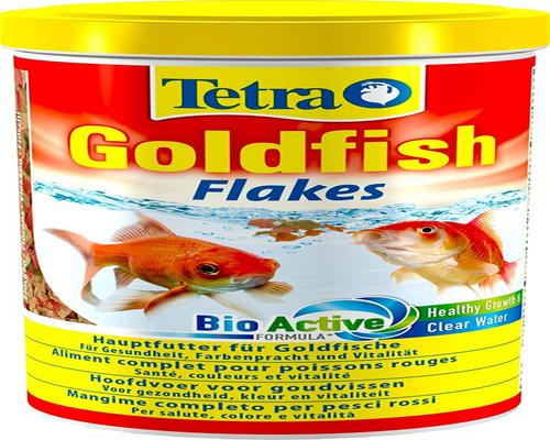 a Tetra Goldfish Food