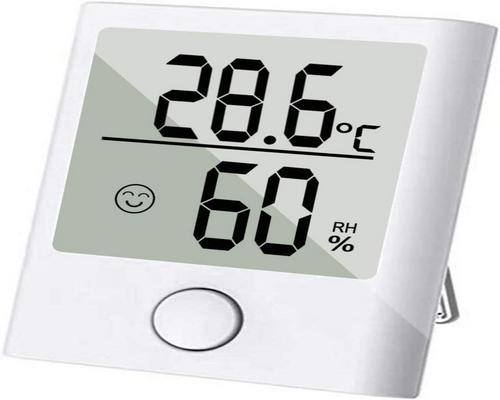 a Sinzoneu Mini Thermometer / Indoor Hygrometer