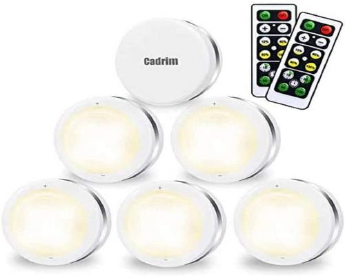 A Closet / Cabinet Night Light, Cadrim Led Wireless Led Adjustable Brightness For Kitchen
