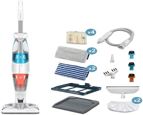 a Rowenta Clean Steam Cleaner