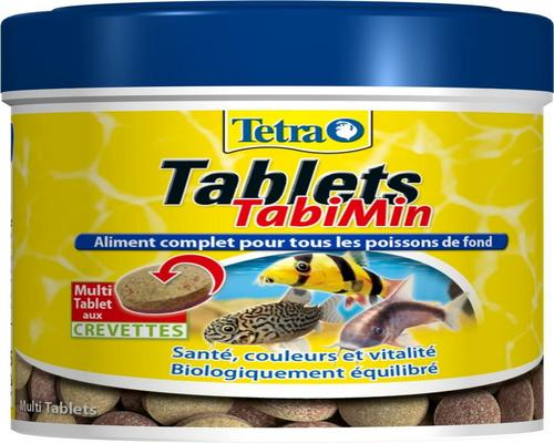 a Food Tetra Tablets Tabimin Complete Food Groundfish