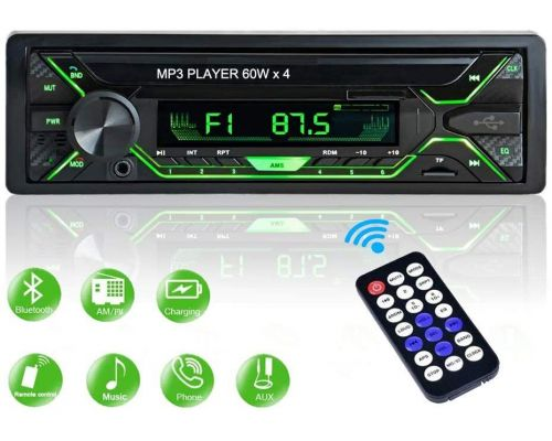 A car radio Bluetooth FM Radio Stereo