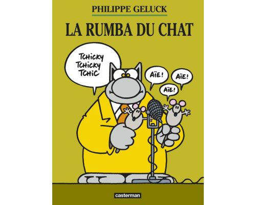 Une BD Le Chat, Tome 22 : La rumba du chat