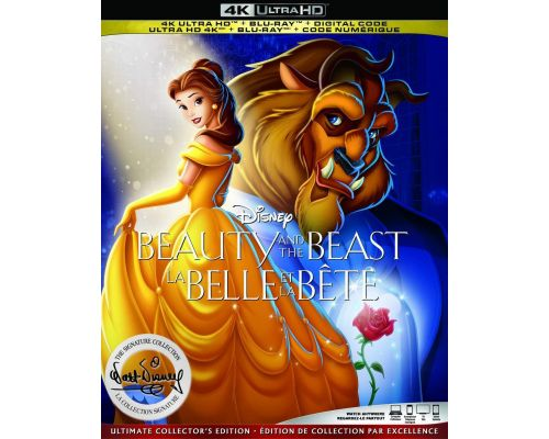 A Beauty and the Beast Blu-Ray