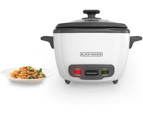 A BLACK+DECKER 2-in-1 Rice Cooker