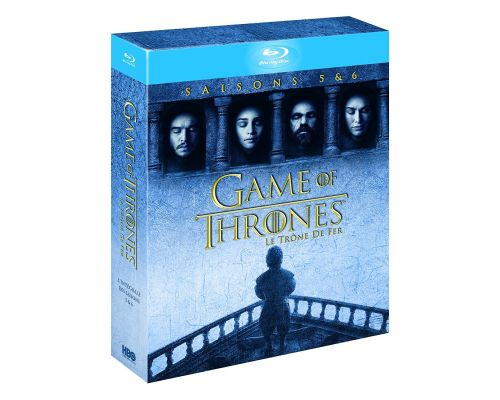 Seasons 5 and 6 of GAME OF THRONES on Blu ray