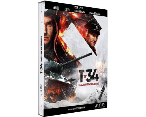 Un BluRay T-34, Machine de Guerre
