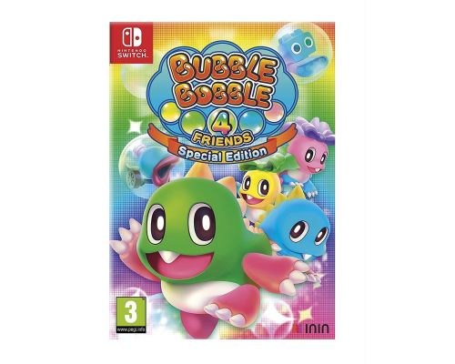 A Bubble Bobble 4 Friends Switch Game