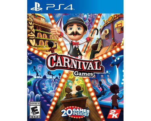 A Carnival Games for PlayStation 4