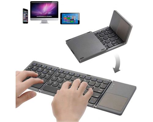 A Foldable Bluetooth Keyboard