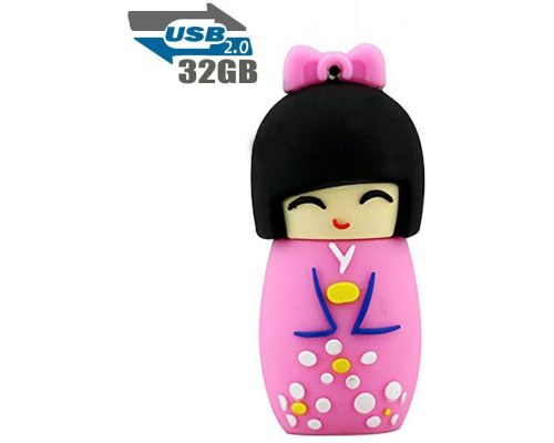 A 32 GB Japanese Doll USB Key