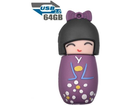 A 64 GB Japanese Doll USB Key
