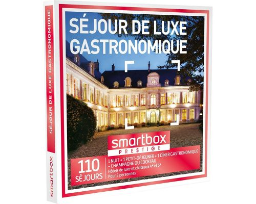 A Gift Box LUXURY GOURMET STAY SmartBox