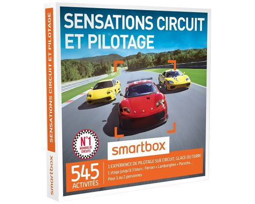 A Gift Box - SENSATIONS CIRCUIT AND PILOTAGE